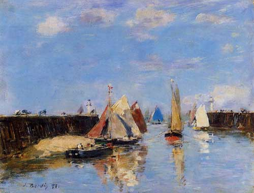 42339 Eugene Boudin Paintings oil paintings for sale