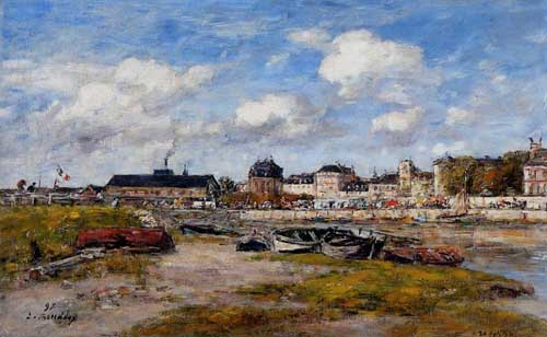 42340 Eugene Boudin Paintings oil paintings for sale