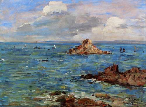 42341 Eugene Boudin Paintings oil paintings for sale