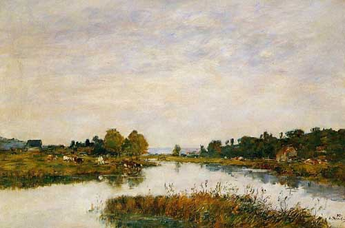 42343 Eugene Boudin Paintings oil paintings for sale