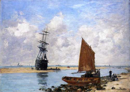 42346 Eugene Boudin Paintings oil paintings for sale