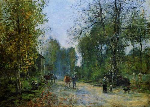 42348 Eugene Boudin Paintings oil paintings for sale