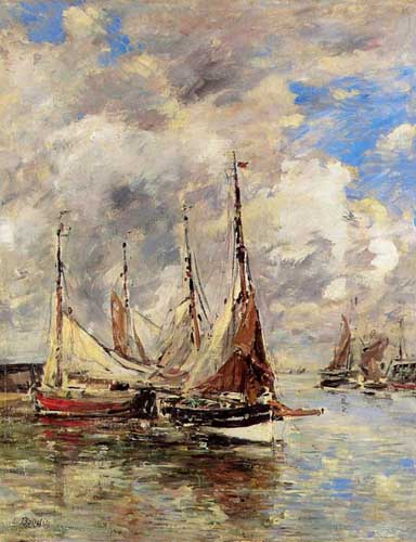 42349 Eugene Boudin Paintings oil paintings for sale