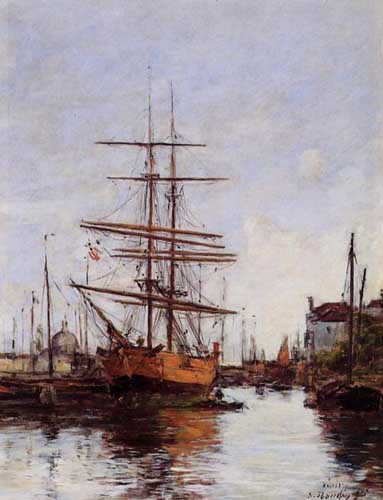 42352 Eugene Boudin Paintings oil paintings for sale