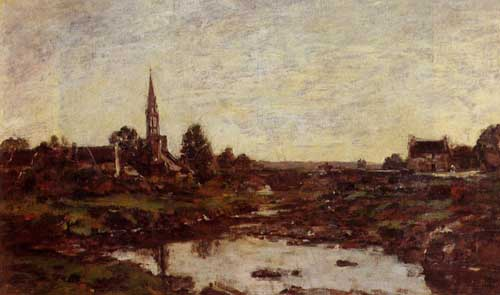 42362 Eugene Boudin Paintings oil paintings for sale