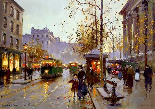 42391 Edouard Leon Cortes Paintings oil paintings for sale