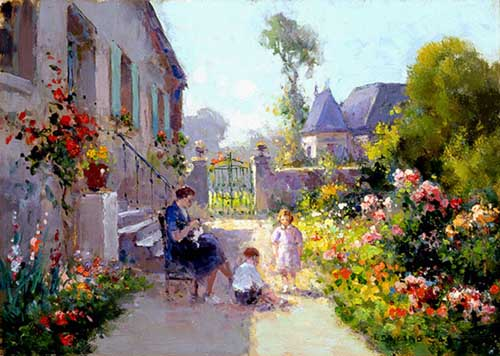 42394 Edouard Leon Cortes Paintings oil paintings for sale
