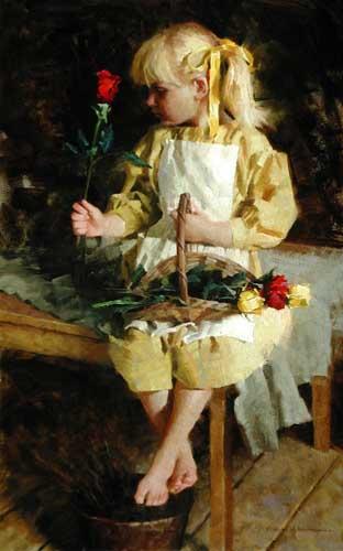 45003 Children oil paintings oil paintings for sale