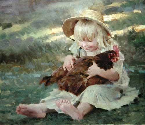 45004 Children oil paintings oil paintings for sale