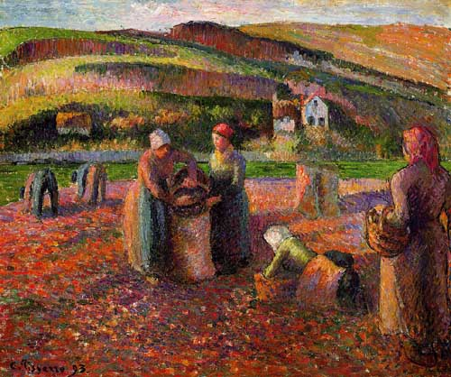 45111 Camille Pissarro Paintings oil paintings for sale