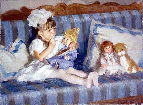 45245 Children oil paintings oil paintings for sale