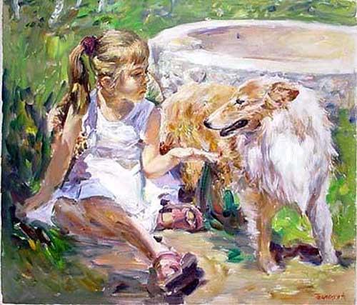 45246 Children oil paintings oil paintings for sale