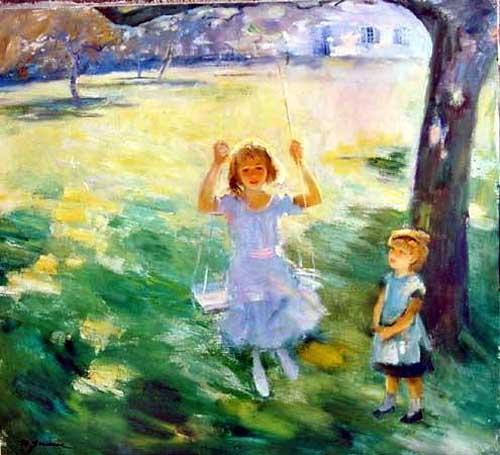 45251 Children oil paintings oil paintings for sale