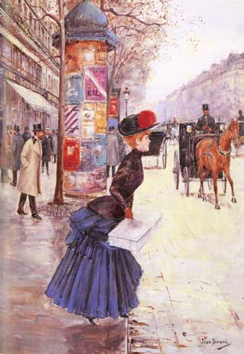 45371 Jean Beraud Paintings oil paintings for sale