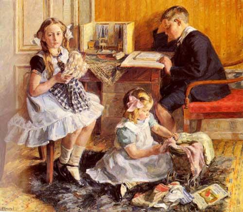 45392 Children oil paintings oil paintings for sale