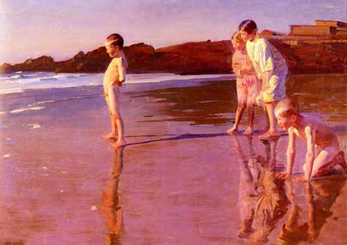 45396 Children oil paintings oil paintings for sale