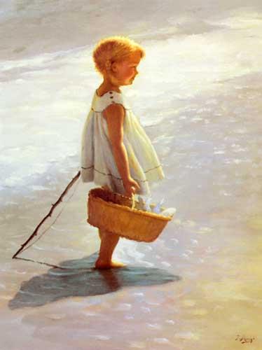 45421 Children oil paintings oil paintings for sale