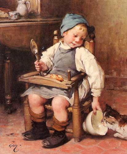45436 Children oil paintings oil paintings for sale