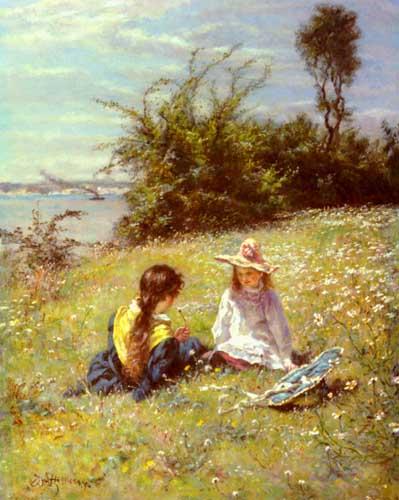 45443 Children oil paintings oil paintings for sale