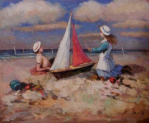 45543 Children oil paintings oil paintings for sale