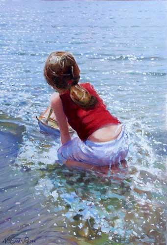 45546 Children oil paintings oil paintings for sale