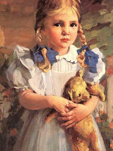 45574 Children oil paintings oil paintings for sale