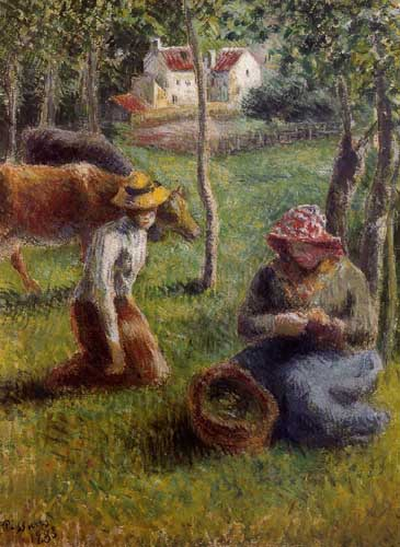 45773 Camille Pissarro Paintings oil paintings for sale