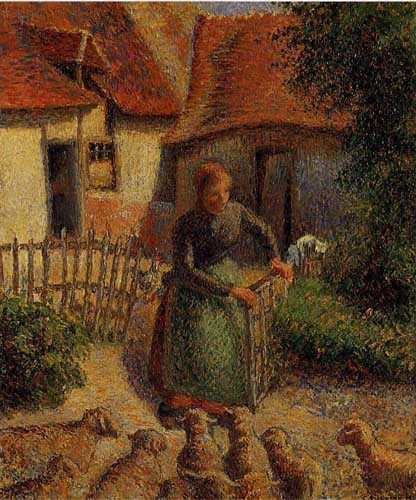 45828 Camille Pissarro Paintings oil paintings for sale