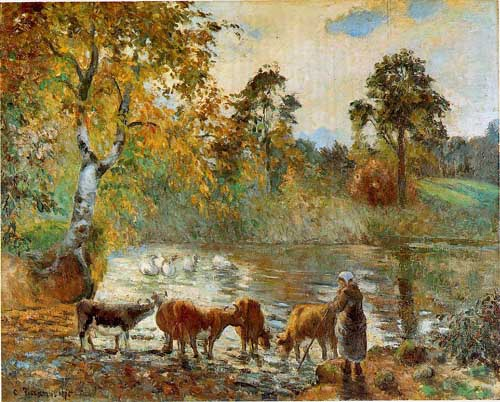 45835 Camille Pissarro Paintings oil paintings for sale