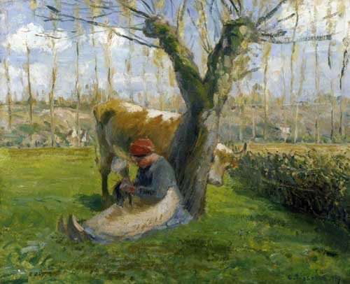 45836 Camille Pissarro Paintings oil paintings for sale