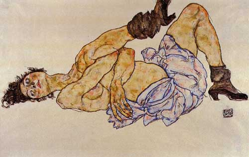 46233 Egon Schiele Paintings oil paintings for sale