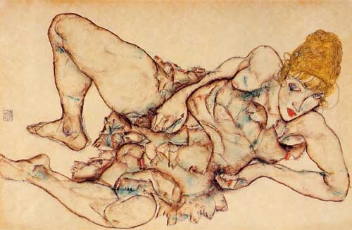 46234 Egon Schiele Paintings oil paintings for sale