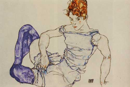 46237 Egon Schiele Paintings oil paintings for sale