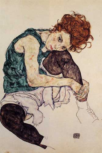46238 Egon Schiele Paintings oil paintings for sale