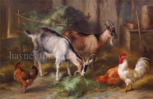 5032 Edgar Hunt Paintings oil paintings for sale