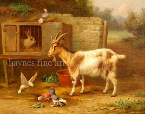 5033 Edgar Hunt Paintings oil paintings for sale