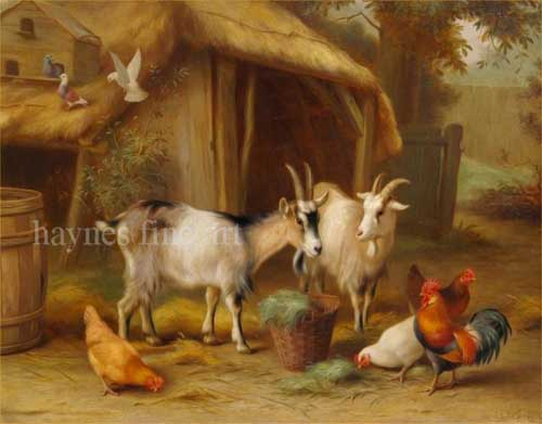 5036 Edgar Hunt Paintings oil paintings for sale