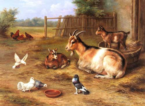 5301 Edgar Hunt Paintings oil paintings for sale