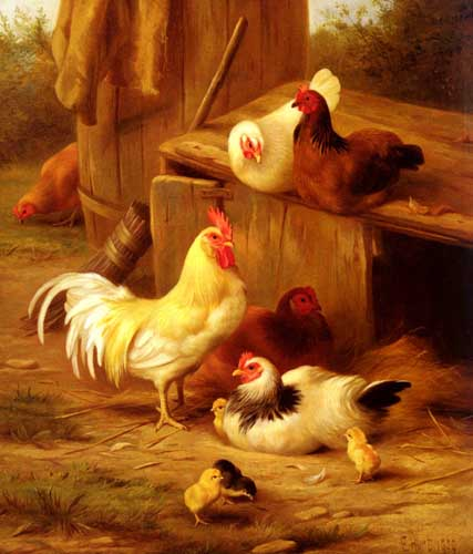 5303 Edgar Hunt Paintings oil paintings for sale