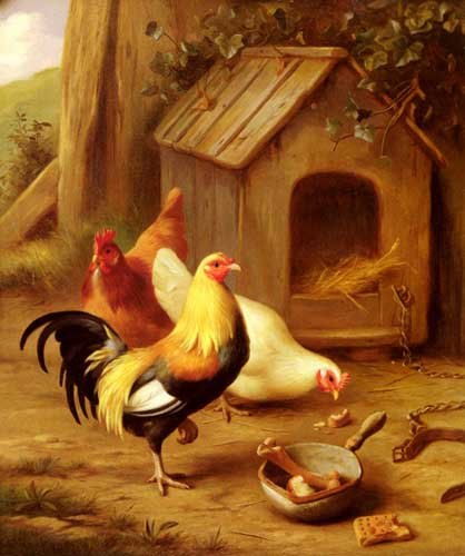 5305 Edgar Hunt Paintings oil paintings for sale