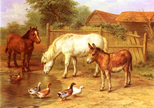 5312 Edgar Hunt Paintings oil paintings for sale