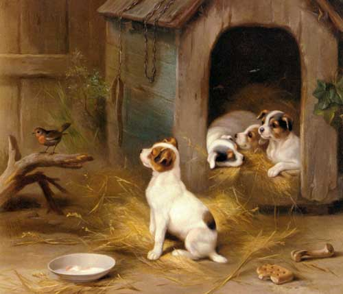 5313 Edgar Hunt Paintings oil paintings for sale