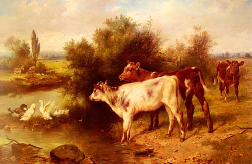 5315 Edgar Hunt Paintings oil paintings for sale