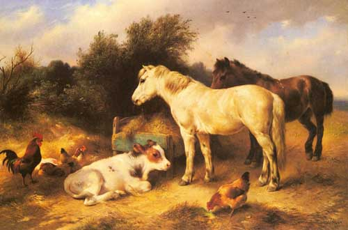 5317 Edgar Hunt Paintings oil paintings for sale