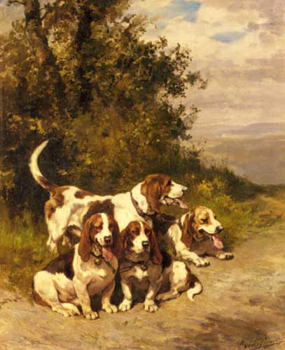 5347 Edgar Hunt Paintings oil paintings for sale