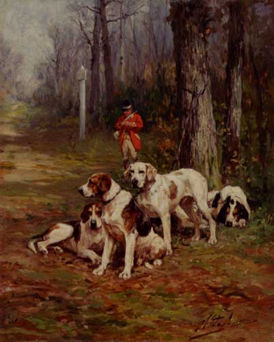 5493 Edgar Hunt Paintings oil paintings for sale