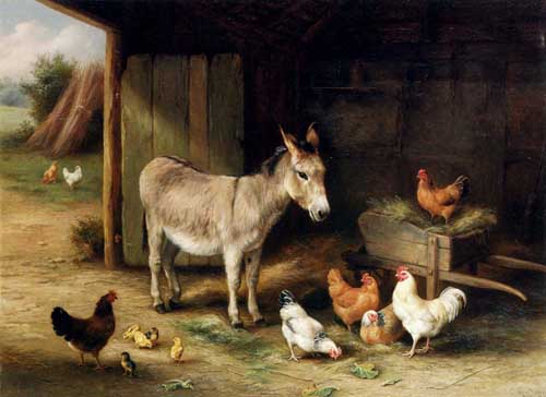 5637 Edgar Hunt Paintings oil paintings for sale