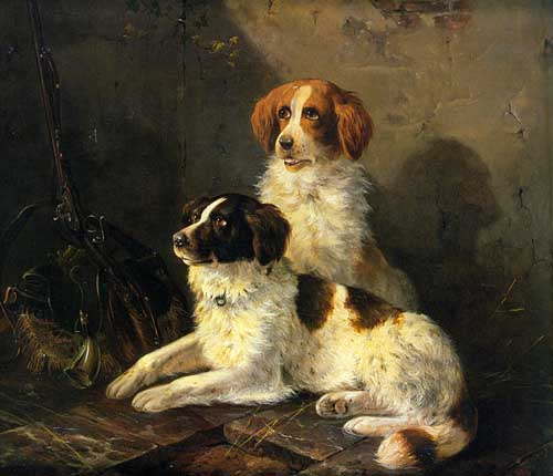 5652 Edgar Hunt Paintings oil paintings for sale