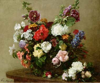 6582 Henri fantin-latour paintings oil paintings for sale