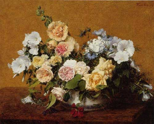 6799 Henri fantin-latour paintings oil paintings for sale